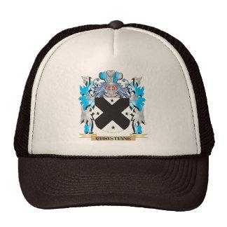 Christiane Coat of Arms - Family Crest Trucker Hat