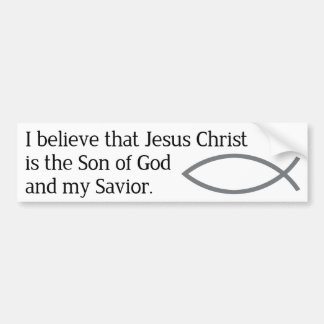 Christianity Bumper Sticker