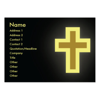 Christianity - Chubby Business Card Template