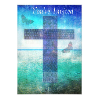 Christianity CROSS Meaningful Art Invites