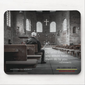 Christianity: Golden Rule Series Mouse Mat