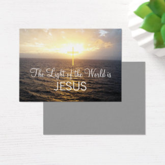 Christianity Jesus Christ Spread The Word Business Card