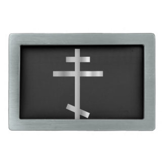 Christianity orthodox cross belt buckles