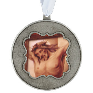 Christianity Scalloped Ornament
