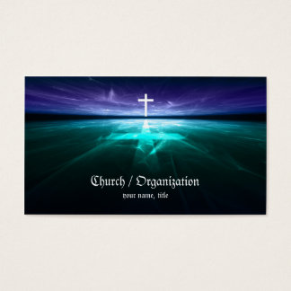 Christianity - Religious Cross Horizon Card