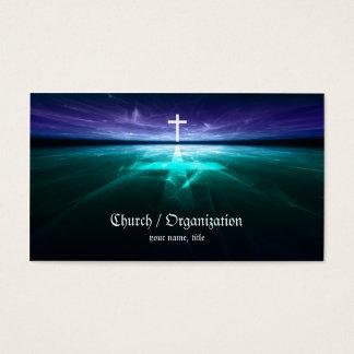 Christianity - Religious Cross Horizon Card
