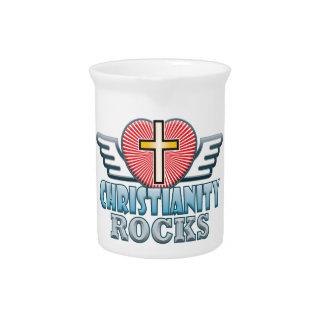 Christianity Rocks Pitcher