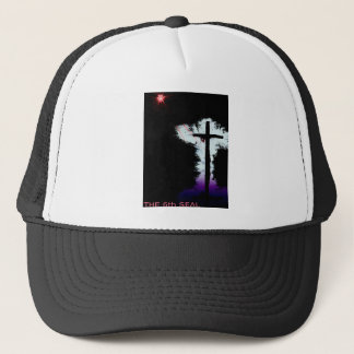Christianity. The Cross, The 6th Seal Trucker Hat