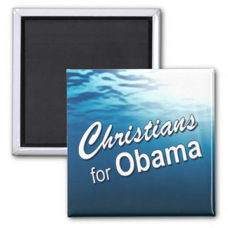 Christians for Obama Magnet (ocean)