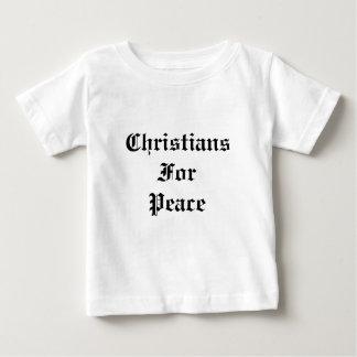 Christians For Peace Tee Shirt