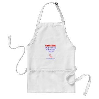 Christians have.. standard apron