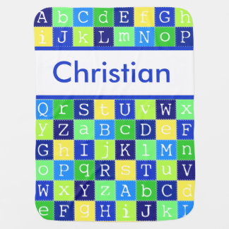 Christian's Personalized Blanket