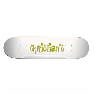 Christian's Skate Deck