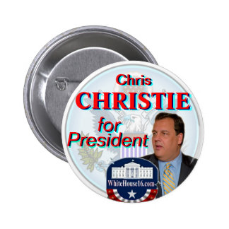 Christie for President Great Seal Button