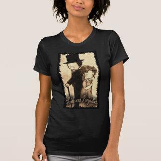 "Christie Hobbs--- Ladies basic Medium black ""Cast  T-shirt"