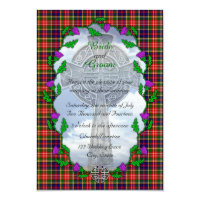Scottish Wedding Invitations Announcements Zazzle UK