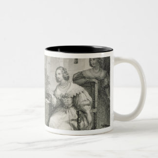 Christina (1626-89) Queen of Sweden, from a series Two-Tone Coffee Mug