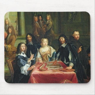 Christina of Sweden and her Court: detail of Mouse Mat