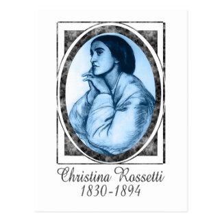 Christina Rossetti Postcard
