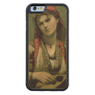 Christine Nilson  or The Bohemian with a Carved Maple iPhone 6 Bumper Case