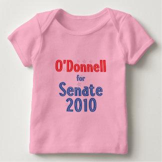 Christine O'Donnell for Senate 2010 Star Design Baby T-Shirt