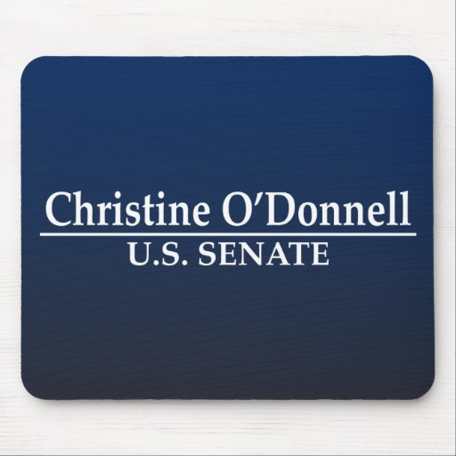 Christine O'Donnell for Senate Mouse Pad