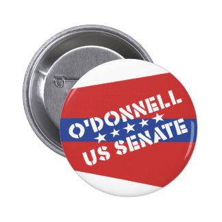 Christine O'Donnell for US Senate - Delaware 6 Cm Round Badge