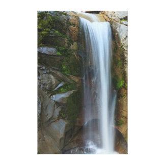 Christine Waterfall, Fall Colors, Mt. Rainier Canvas Print