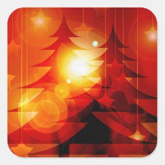 Christmas 018 square sticker