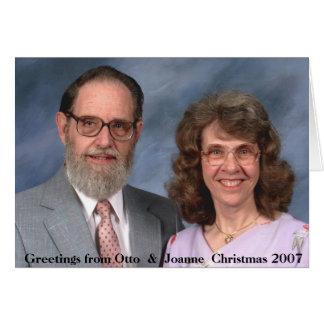 Christmas 2007 cards