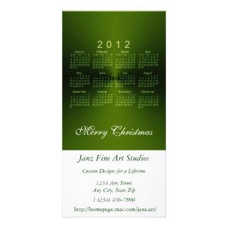 Christmas 2012 Calendar Card