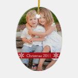 Christmas 2012 Photo keepsake ornament