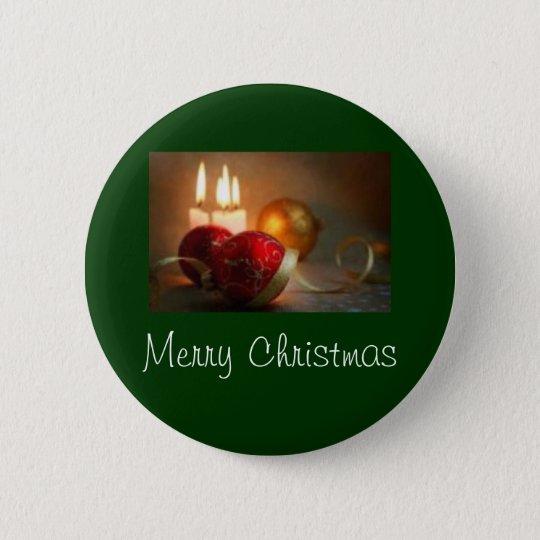 Christmas 2 6 cm round badge
