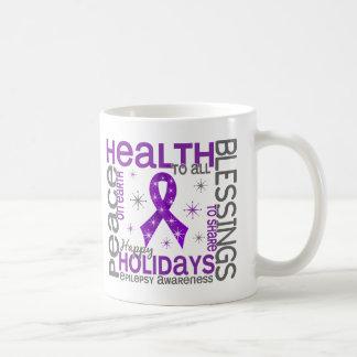 Christmas 4 Epilepsy Snowflakes Coffee Mug