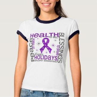 Christmas 4 Epilepsy Snowflakes T Shirt