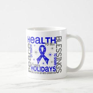 Christmas 4 Rheumatoid Arthritis Snowflakes Basic White Mug