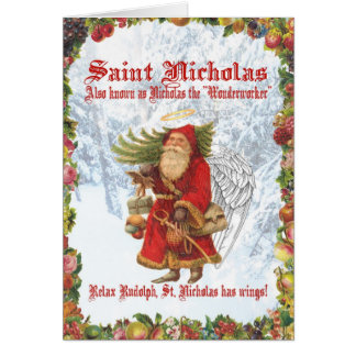 Christmas 4 Saint Nicholas Card