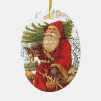 Christmas 4 Saint Nicholas Christmas Ornament