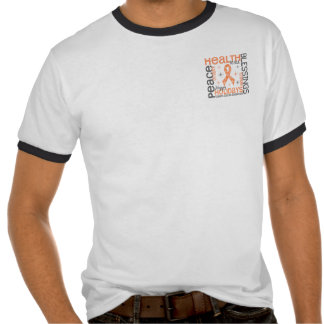 Christmas 4 Uterine Cancer Snowflakes T-shirts
