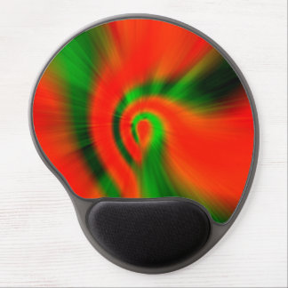 Christmas Abstract Gel Mouse Mat