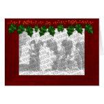 Christmas Add Your Photo Frame Customisable Card