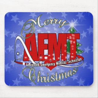 CHRISTMAS AEMT Advanced Emergency Medical Tech Mousepad