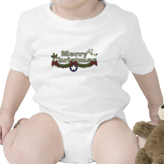 Christmas Air Force Apparel Baby Bodysuits