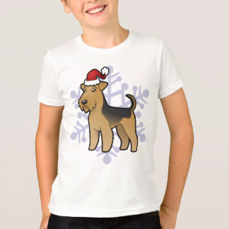 Christmas Airedale Terrier / Welsh Terrier T-Shirt