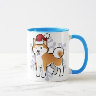 Christmas Akita Inu / Shiba Inu Mug