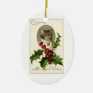 Christmas . . . All Good Wishes ornament