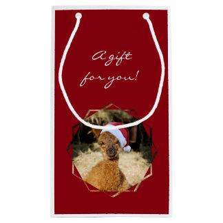 Christmas Alpaca Gift Bag
