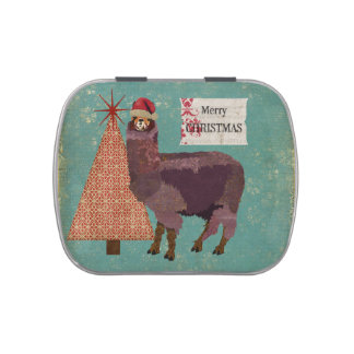 Christmas Alpaca Jelly Belly Container Jelly Belly Tins