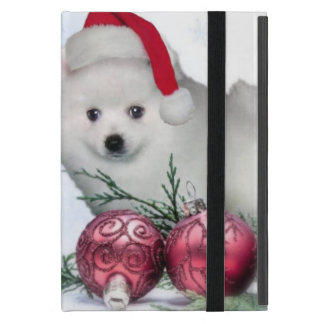 Christmas American Eskimo dog iPad Mini Case
