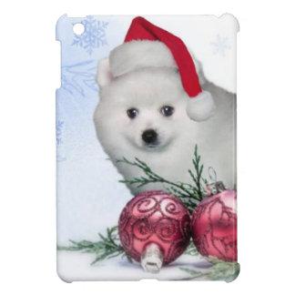 Christmas American Eskimo dog iPad Mini Cases